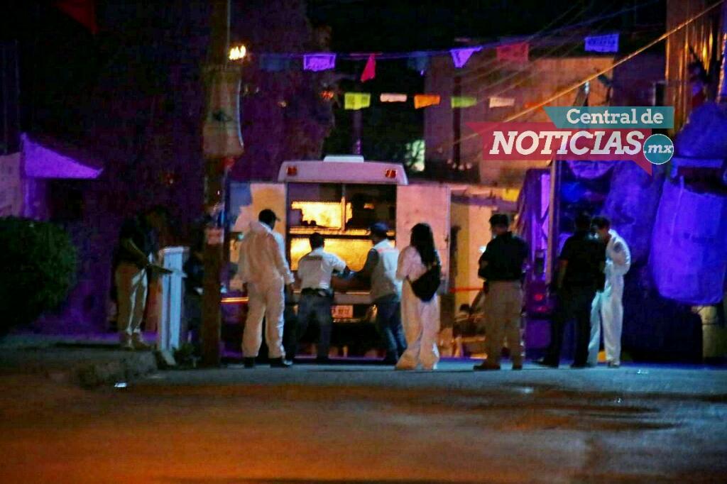 La noche de este lunes un hombre fue asesinado a balazos en la colonia Cliserio Alanís en Jiutepec   Foto: © Margarito Pérez Retana