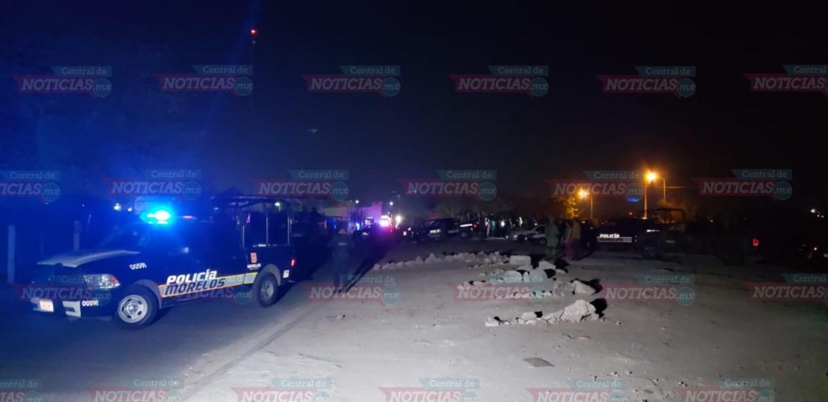 Despliegan fuerte operativo afuera del penal de Morelos.