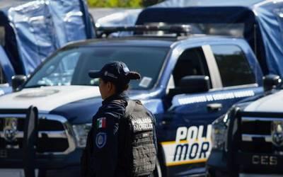 Policías trabajan con salarios diferentes y muchos carecen de prestaciones, informó Mirna Zavala -Froylán Trujillo.jpeg