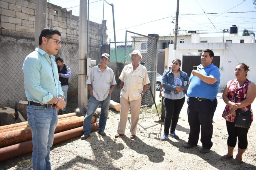 Tienen mejor suministro de agua potable habitantes de la colonia Otilio Montaño 03