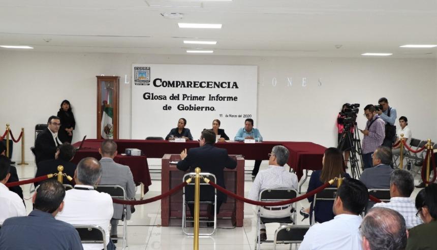 ACUDE A COMPARECER EL SECRETARIO DE HACIENDA ANTE DIPUTADOS DEL CONGRESO LOCAL .j 01peg