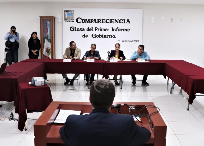 ACUDE A COMPARECER EL SECRETARIO DE HACIENDA ANTE DIPUTADOS DEL CONGRESO LOCAL .j 03peg