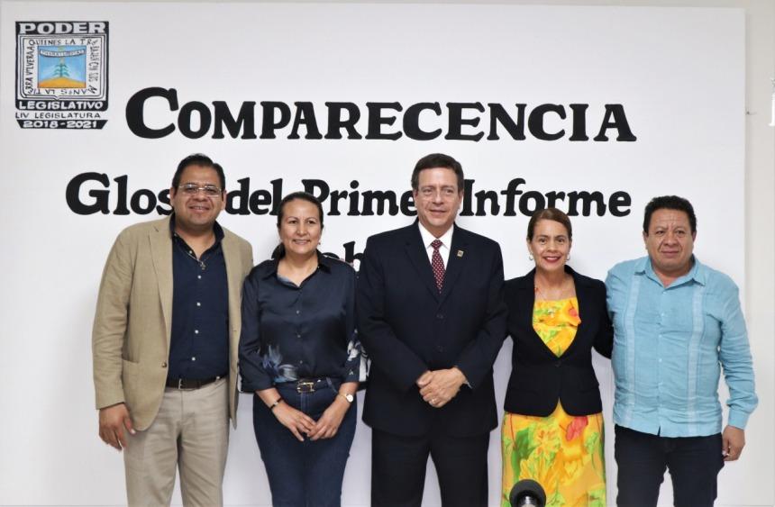 ACUDE A COMPARECER EL SECRETARIO DE HACIENDA ANTE DIPUTADOS DEL CONGRESO LOCAL .j 05peg