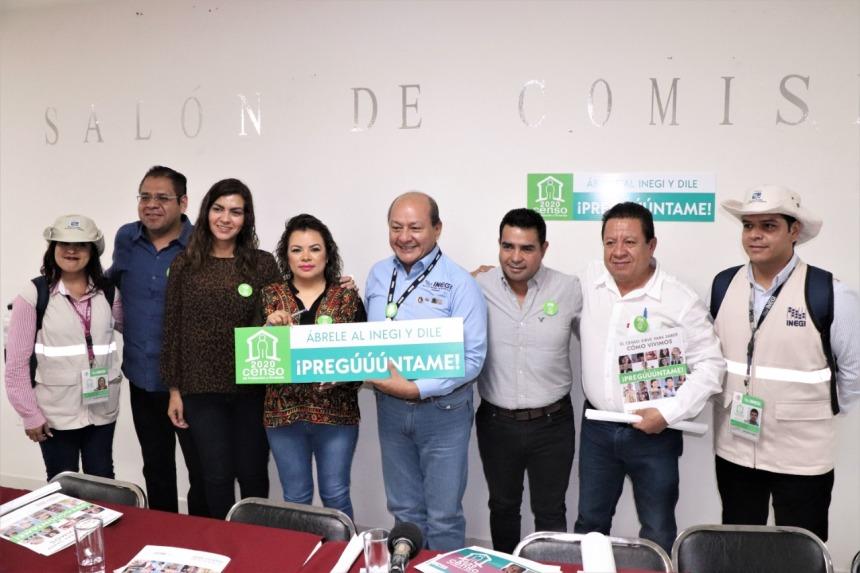 PRESENTAN EN EL CONGRESO DEL ESTADO CENSO DE POBLACIÓN Y VIVIENDA INEGI 2020 07