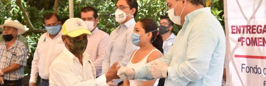 Inicia entrega de apoyos a 492 productores de Jiutepec