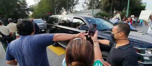 Habitantes de Morelos protestan en contra del Presidente López Obrador